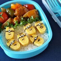 Minions Bento Lunch Box love it!!