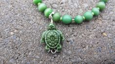 Check out this item in my Etsy shop https://www.etsy.com/listing/250570417/green-turtle-bracelet