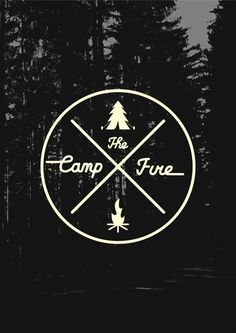 The Campfire by Fedor Erofeev, via Behance