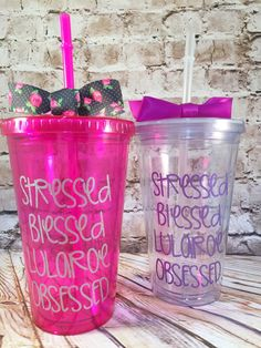 Stressed Blessed LuLaRoe Obsessed tumbler by MandJCollective