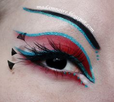All information on this look here: http://madamnoire.blogspot.se/2012/12/cyber-parrot_3.html I hope you like it!