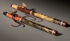 Cool Native American Style Flutes