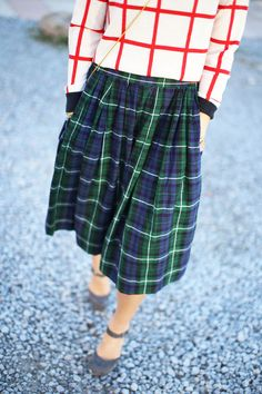 Grid/Tartan // Happily Grey // John Hillin Photography