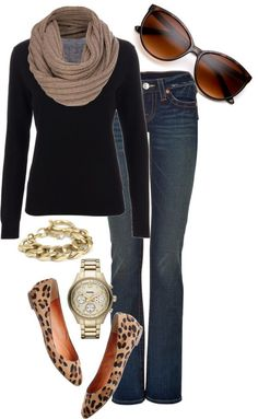 12 ways to style your animal print flats this fall