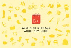 The Brit + Co. Shop has a whole new look! Check it out.
