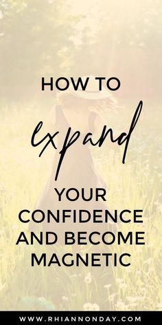 Expanding Your Confidence You know someone like her, don't you? That IT girl who seems to be absolutely magnetic, attracting people, luck and opportunities right [. Building Self Confidence, Self Confidence Tips, Confidence Quotes, Gaining Confidence, Confidence Boosters, How To Improve Confidence, Coaching, Positive People, Self Improvement Tips
