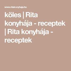 köles | Rita konyhája - receptek | Rita konyhája - receptek Paleo, Bulgur, Beach Wrap, Paleo Food