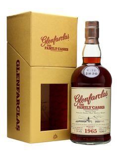 Glenfarclas 1965 / Family Cask V / Sherry Butt #4362 - A dark, sherry matured whisky released as part of the 5th set of Family Casks from Glenfarclas in 2010.