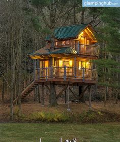 Would you like to reminisce about your childhood? Don't miss this brand new treehouse located in the middle of the mountains on an 86-acre private resort in Vermont! Held aloft by two enormous pine trees, you will find an incredible home ready for your visit.  Wake up to the splashing of rainbow trout and the music of the hermit thrush as you gaze out on the pristine pond at Moose Meadow. The treehouse is where nature and luxury come together in tranquil harmony, and where your imagination…