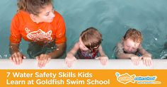 7 Water Safety Skills Kids Learn at Goldfish Swim School
