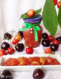 Di gotuje: Dżem z czereśni