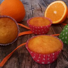 Muffin alle mele frullate e arancia | Il mondo di Adry