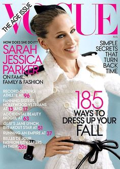 // FLAT 128 August 2011 - Sarah Jessica Parker (6th cover - February 2002, August 2003, September 2005, June 2008, May 2010)