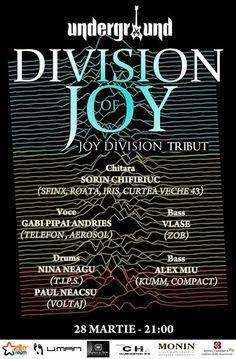Division Of Joy [Joy Division Tribut] @Underground Pub