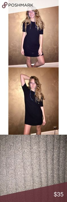 Cute Simple Soft Fabric Black Dress Awesome quality! ❤️💋 Dresses Midi