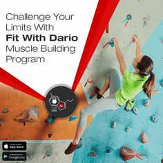 Challenge Your Limits With Fit With Dario Muscle Building Program. App is Coming Soon on both App Store & Google Play Store.