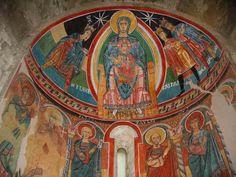 Pintura: fresc de Santa Maria de Taüll