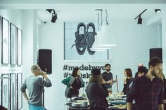 Converse showroom at Teniskology 2015