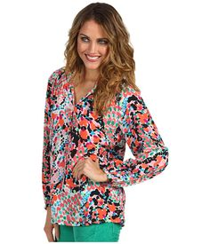 Lilly Pulitzer Printed Elsa Top Cameo White Sweet Nothings - Zappos.com Free Shipping BOTH Ways