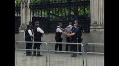 Man arrested after fight outside Parliamentary bar - BBC News