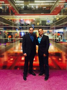 At the BBC Headquarters in London, with the talented director/producer - Ravi Ajit Chopra. 2nd December 2016. See: www.RSTumber.com University Of Westminster, Sci Fi Fantasy, Life Is Short, Wasting Time, Bbc, December, London, London England