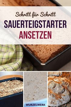 Richtig gutes Sauerteigbrot backen Baking sourdough bread without yeast: Here is a simple recipe for a tasty mixed rye bread that you can bake yourself! Easy Cooking, Healthy Cooking, Cooking Lamb, Cooking Rice, Cooking Salmon, Healthy Food, Egg Recipes For Kids, Cooking For Beginners, Vegetable Drinks