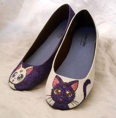 Hermosas y brillantes zapatillas con diseños geek  –  Nerdgasmo