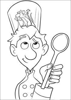 The latest tips and news on disney coloring pages are on color page. On color page you will find everything you need on disney coloring pages. Disney Coloring Pages, Free Printable Coloring Pages, Coloring Book Pages, Coloring Pages For Kids, Cartoon Tv, Cartoon Drawings, Ratatouille Disney, Disney Printables, Pixar