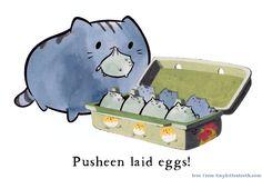 Pusheen by *Pocketowl on deviantART