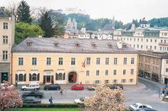 Mozart lived in this house 1773-1780.  In Salzburg, Austria, it is now a museum.