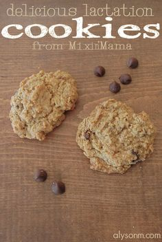 Delicious lactation cookies to help boost your #breastmilk supply! And, a giveaway! #breastfeeding #cookies #recipe #dessert #moms
