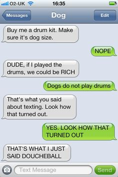 dog text 5 ... Click this image to browse lots more #Funny #pics & awesome #quotes
