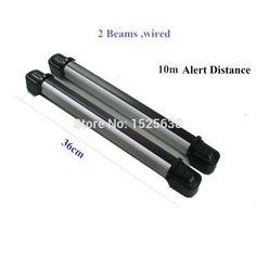 wired intruder alarm infrared beam detector fence photoelectric sensor for alarm host
