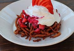 Summer Funnel Cake by Chef Jeffrey DeAlejandro from Knoxville, TN