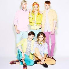 Uniqlo Spring 2013 Stars Chloe Norgaard, Really Cute Clothes, And A Case Of Hair Envy | MTV Style