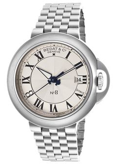 Women's No. 8 Automatic Silver Guilloche Dial Stainless Steel