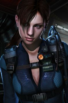 jill valentine video game character