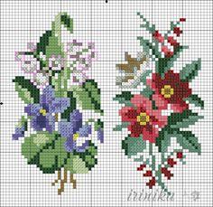 (1) Gallery.ru / Фото #2 - , - irinika / kwiatki w owalnych ramkach 2/3
