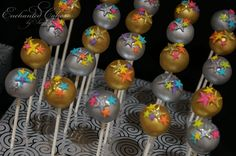 Jazzy's 13th Birthday Cake pops