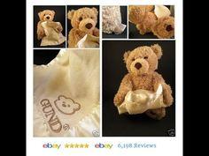 PEEK-A-BOO BEAR BY GUND Teddy Talking Mechanical Stuffed Interactive Toy 6 month #Gund #Bear http://www.ebay.com/itm/PEEK-A-BOO-BEAR-BY-GUND-Teddy-Talking-Mechanical-Stuffed-Interactive-Toy-6-month-/311608765861?ssPageName=STRK:MESE:IT
