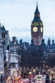 big ben from trafalgar Miss You London!!!