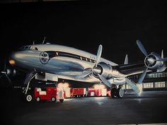 AIR FRANCE CONSTELLATION  peinture originale ✏✏✏✏✏✏✏✏✏✏✏✏✏✏✏✏ IDEE CADEAU / CUTE GIFT IDEA  ☞ http://gabyfeeriefr.tumblr.com/archive ✏✏✏✏✏✏✏✏✏✏✏✏✏✏✏✏