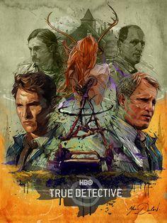 HBO-TRUE DETECTIVE. on Behance