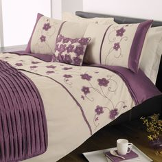 Purple and Yellow Comforter Sets | Purple Duvet Sets
