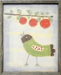 Buy Bird with Cherries by Sugarboo Designs online with free shipping from thegardengates.com