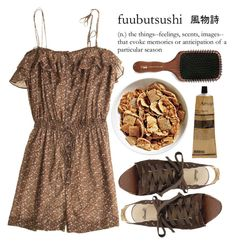 """fuubutsushi"" by anna-mckinley ❤ liked on Polyvore featuring By Malene Birger, Acca Kappa and Aesop"
