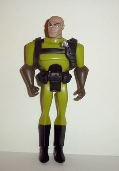 justice league unlimited LEX LUTHOR green suit black belly