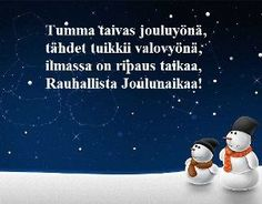 Tulostettavat runokortit joulukortteihisi Christmas Greetings, Christmas Holidays, Christmas Crafts, Merry Christmas, Xmas, Hobbies And Crafts, Diy And Crafts, Christmas Design, School Fun