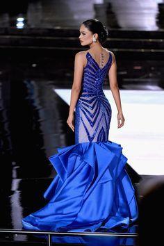MISS FILIPINAS Pia Alonzo Wurtzbach, la gran ganadora del certamen.