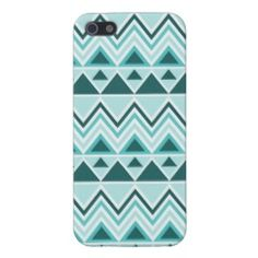 Aztec Andes Tribal Mountains Triangles Chevrons iPhone 5 Case  #SOLD on #Zazzle